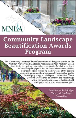 Community Landscape Beautification Awards Cover